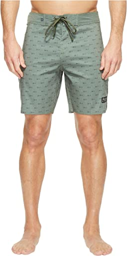 Longbow Scallop Boardshorts