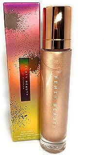 Fenty Beauty Body Lava Body Luminizer by Rhianna - Who Needs Clothes?! (Radiant Rose Gold) - SIZE 3 oz/ 90 mL
