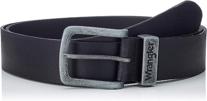 Cintura uomo wrangler metal loop W0080US01