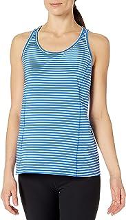 Calvin Klein Women's Marker Stripe Pleat Back Tank