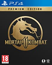 Mortal Kombat 11 Premium Collection Steelbook (PS4) with Keychain