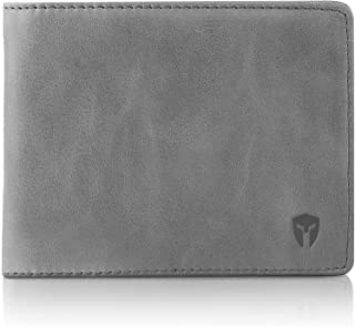 eel skin bi fold wallet