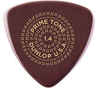Dunlop 513P1.40 Primetone Triangle 1.4mm Sculpted Plectra (Smooth) - 3 Pack