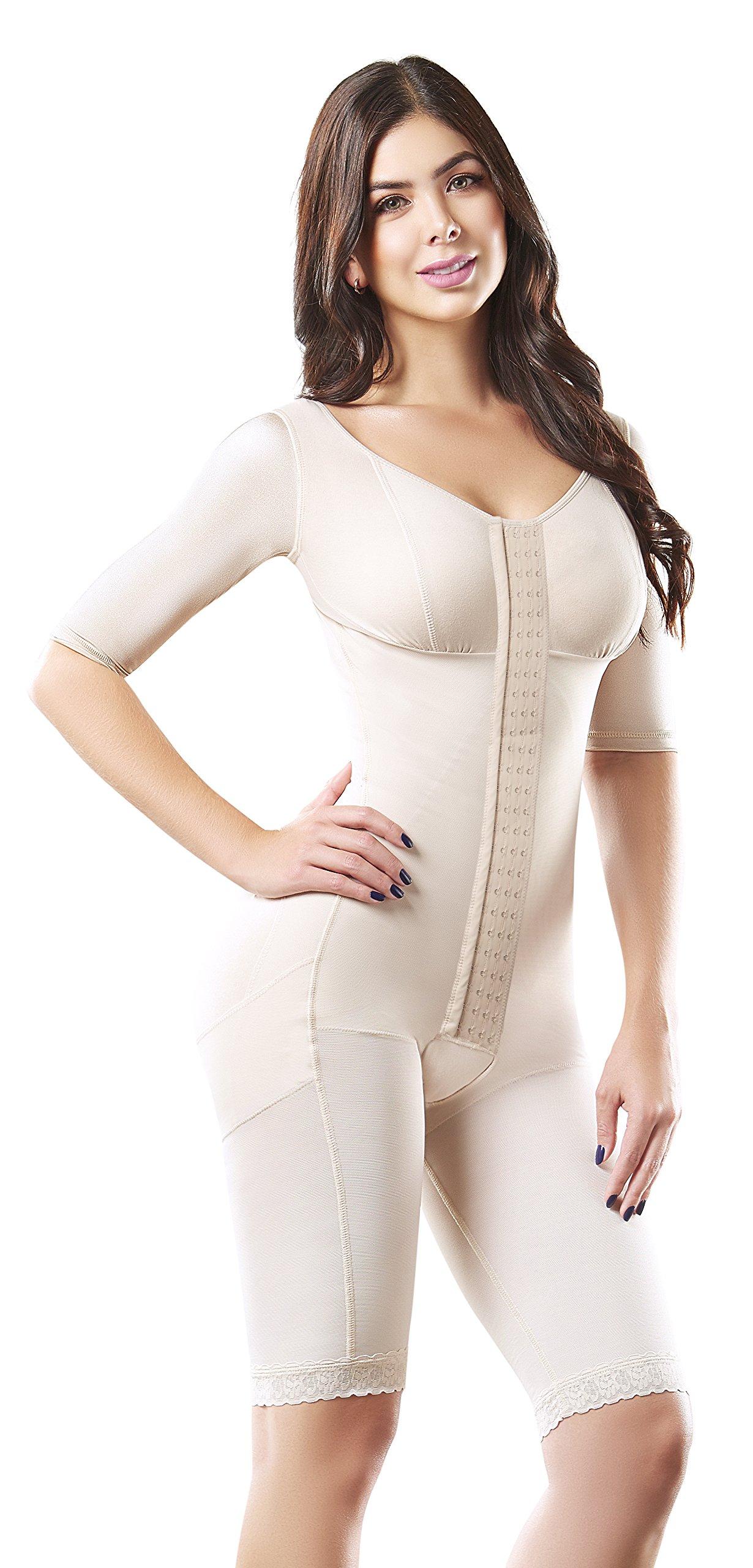 Shape Concept Fajas Colombianas Reductoras y Moldeadoras High Compression Garments After Liposuction Full Bodysuit SCM0068