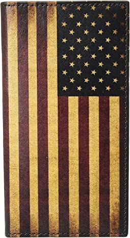 Vintage USA Flag Rodeo Wallet