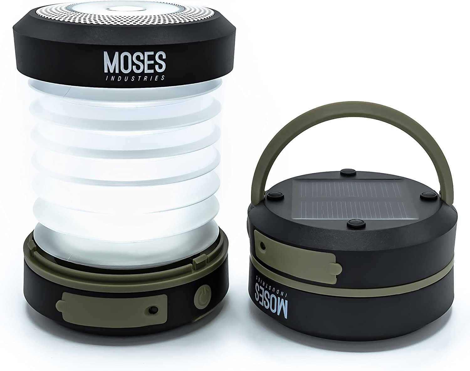 Moses Award-winning store Regular discount Industries Solar Powered LED Lantern: Rechargeable Camping