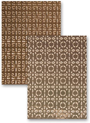 M-Bossabilities Reversible A4 Embossing Folder-Elite