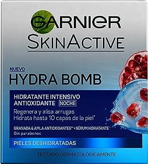 Garnier Skin Active Hydrabomb, Crema Hidratante De Noche -