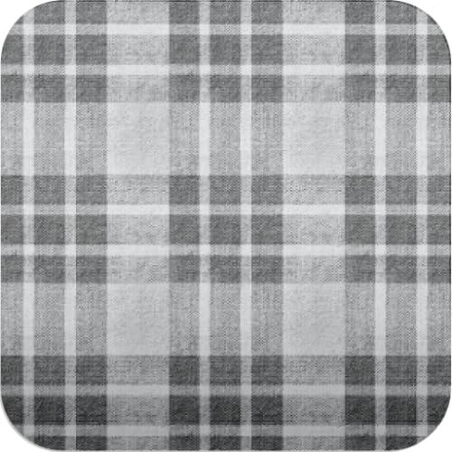 Karo-Muster Tapeten ver39 schwarz und weiß