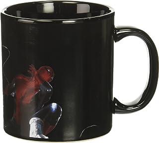 Vandor 26863 Marvel Venom Heat Reactive Ceramic Mug, 20 oz, Black