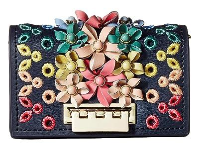 ZAC Zac Posen Earthette Credit Card Case Crossbody (Parisian Nights) Cross Body Handbags