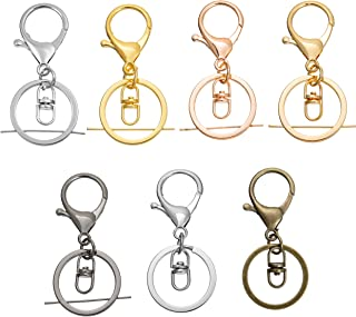 3er Abnehmbarer Schlüsselbund Schlüsselring Schlüsselanhänger Schlüsselkette Neu