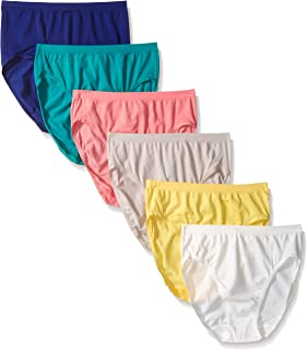 Fruit of The Loom Women's Seamless Underwear Multipack (Assorted)