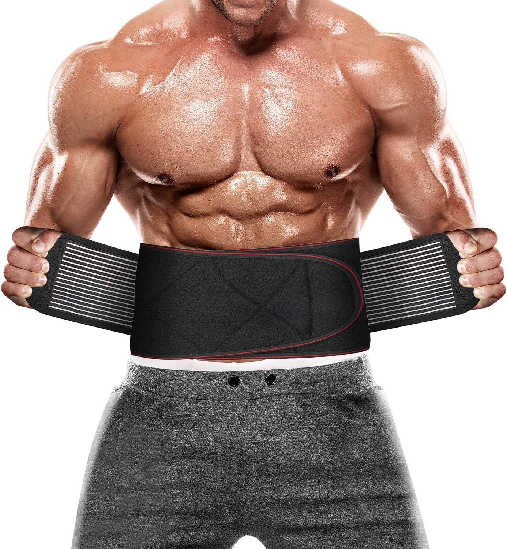 Adjustable Lumbar Sport store Support Waist Brace and Women for New Orleans Mall Fi Men