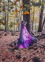 Capa Galaxia Nebulosa Morada Rosa Púrpura con capucha boda tematica medieval fantasia magia bruja mago cosplay