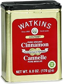 Watkins All Natural Gourmet Spice Tin, Ground Cinnamon, 6 Ounce