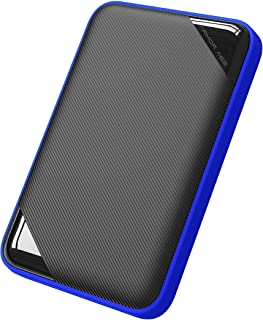 Silicon Power 2TB Rugged Game Drive Portable External Hard Drive HDD A62, Military-Grade Shockproof/IPX7 Waterproof, Compa...