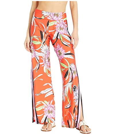 Trina Turk Shangri LA Roll Top Pants Cover-Up (Flame) Women