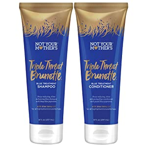 Not Your Mother's Triple Threat Shampoo and Conditioner Duo Pack, 8 Ounce (1 of each) for all hair types