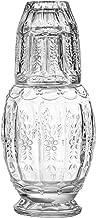 Elle Décor 310123-GB Vintage Glass 2 Piece Carafe Set, 4.7x10.2
