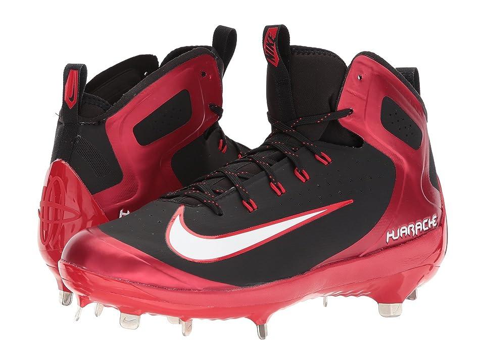 Nike Alpha Huarache Elite (University Red/White/Black/Volt) Men