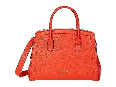 Kate Spade New York Knott Medium Satchel (Tamarillo) Handbags