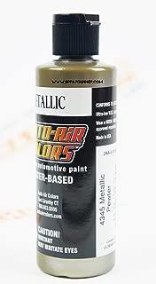 Createx Auto-Air Colors 4oz Metallic Pewter 4345 Custom Airbrush Paint. by SprayGunner