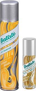 Batiste Dry Shampoo Brilliant Blonde 6.73 oz Plus Mini 1.6 oz