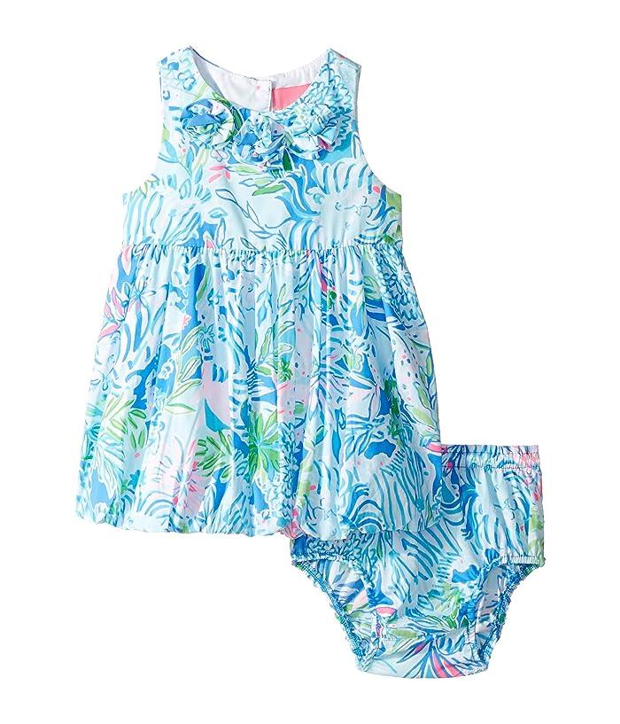 4ea552b123b9c9 Baby Britta Bubble Dress (Infant) (Coastal Blue Lion Around) Girl's Dress