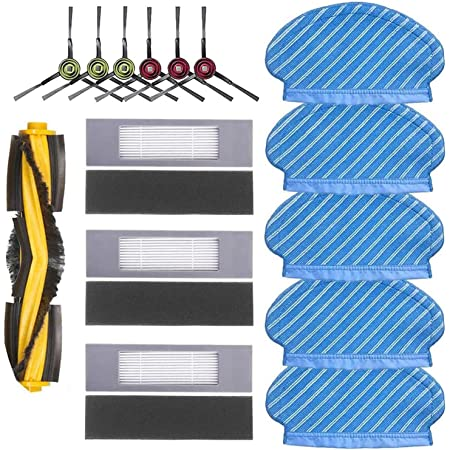 Main//Side Bürste Filter Kit Für Ecovacs DEEBOT OZMO 950 Robotic Staubsauger Neu