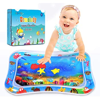 Funny Inflatable Water Play May Exercise Play Center Pad Kid Baby Tummy Time Toy