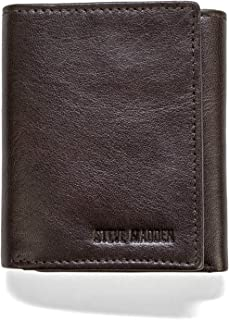 Steve Madden Summer 18 Mens Wallet, Brown, One Size - N80053