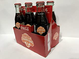 Coca-Cola 2018 Clemson Tigers National Championship Coke 6 Pack Bottles with Carton