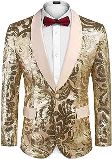 sequin tuxedo suit