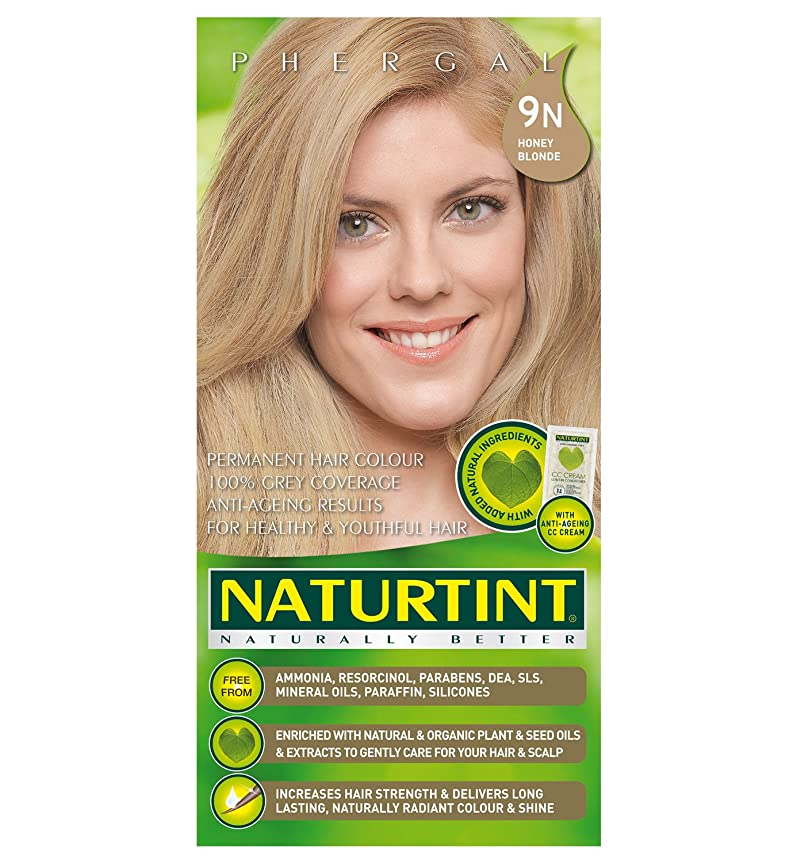 建築古代母音Naturtint Hair Color 9N Honey Blonde Count (並行輸入品)