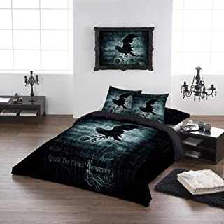 Alchemy Gothic Nevermore USA Queen Duvet/Comforter Cover Set