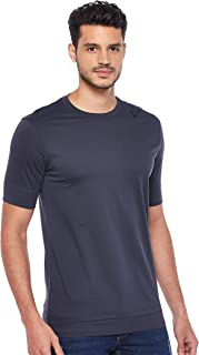 Armani Exchange Mens 3GZTLG T-Shirt, Blue (Blue Night 1581), Medium
