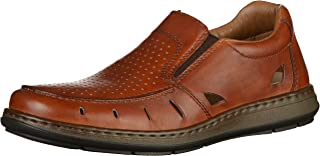 rieker mens slip on shoes