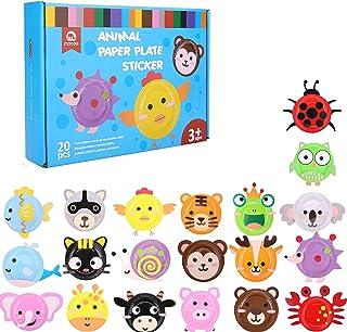Amazon Com Paper Plates Arts Crafts Toys Games