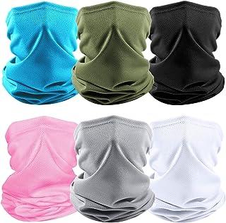 Tarrar Men/Women Face Cover UV Protection Neck Gaiter Scarf Sunscreen Face Bandana Sports Face Scarf