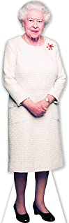 Aahs Engraving Queen Elizabeth II Life Size Carboard Stand Up, 5 feet