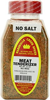Marshalls Creek Spices Meat Tenderizer, No Salt, 11 oz