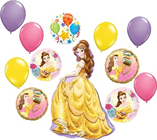 BEAUTY and BEAST birthday party beverage PAPER NAPKINS 16pc Disney Belle