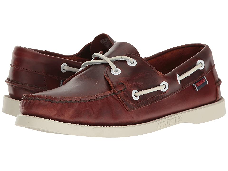 Sebago Docksides(r) Leather (Brown Oiled Waxy Leather) Women