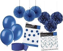 Unique Party 63841 63841-Royal Party Decorations Kit, Royal Blue, Pack of 1