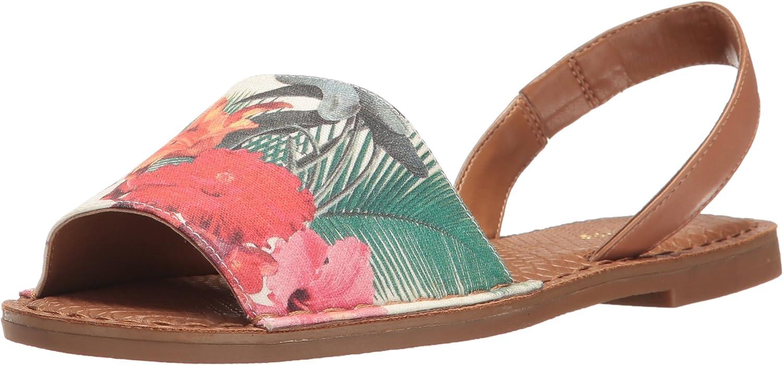 Nine West Womens Izzio Canvas Dress Sandal