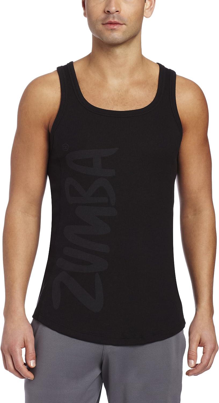 Zumba Fitness LLC Men's Dashing Ribbed Tank Top