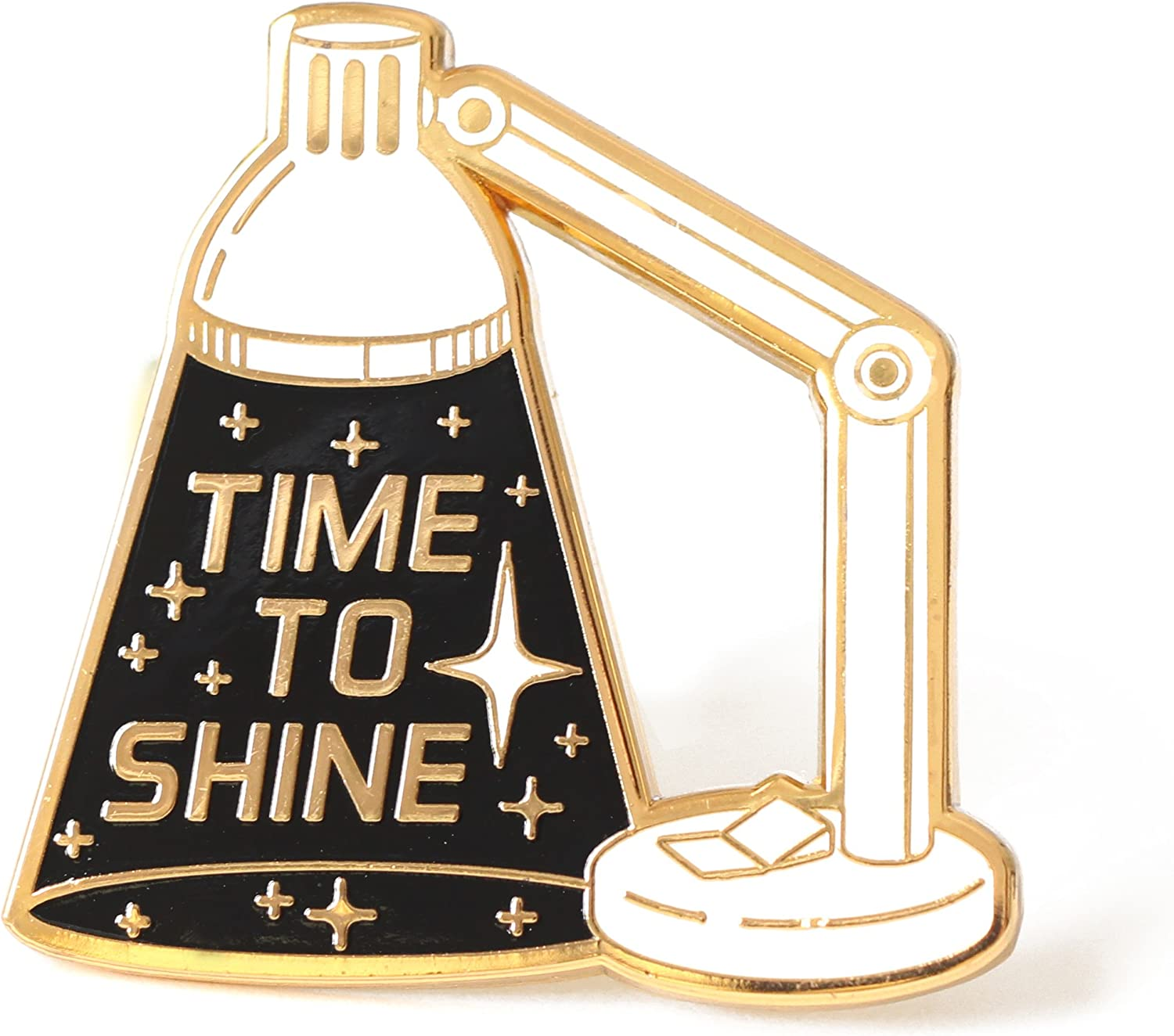 Space Inspired Enamel Limited time for free shipping Minneapolis Mall Pin Inspirational Shine Time Lapel To