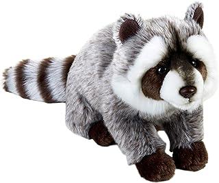 (Medium, Raccoon) - National Geographic Plush Raccoon Stuffed Animal Plush Toy Medium