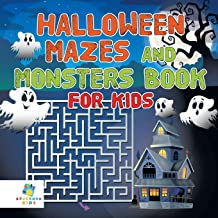 Halloween Mazes and Monsters Book for Kids